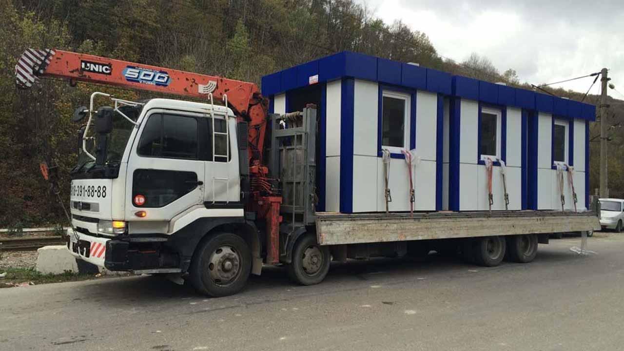 Перевозка манипулятором негабаритных грузов