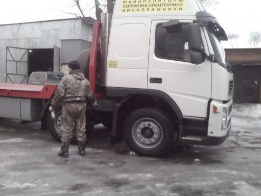 Перевести спецтехнику тралом в Москве и МО