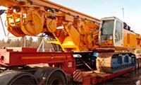 Аренда манипулятора для перевозки буровых установок в Москве и МО