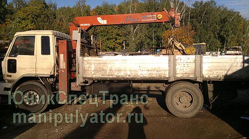 Манипулятор Nissan в Москве и МО
