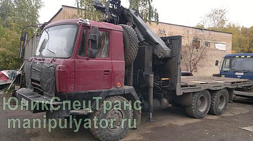 Кран-манипулятор Tatra в Москве и МО недорого
