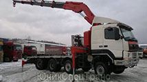 Кран-манипулятор Volvo Terberg в Москве и МО