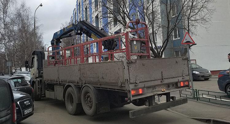 Аренда манипулятора Volvo 10 тонн