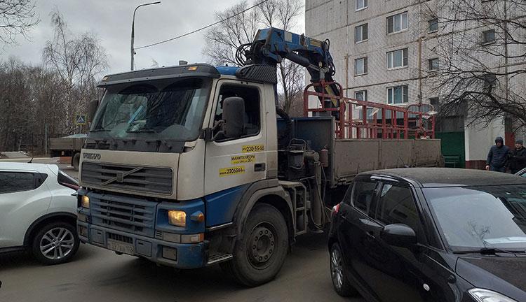 Заказать манипулятор Volvo 10 тонн