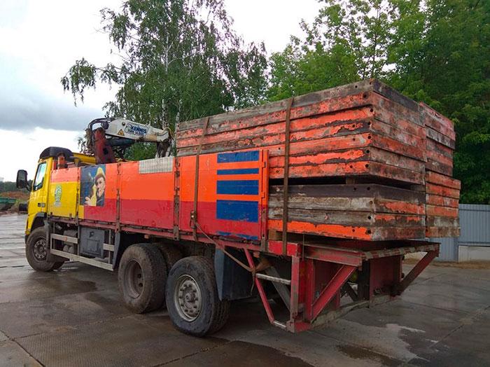 Заказать манипулятор с краном 10 тонн Volvo в Москве и МО