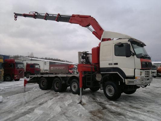 Заказать манипулятор Volvo Terberg , стрела до 20 тонн